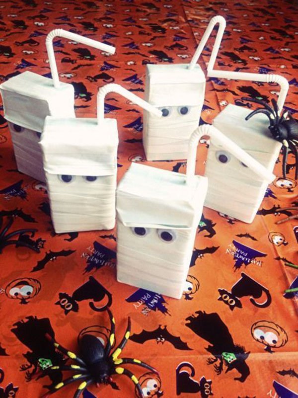 Halloween Ghost Juice boxes!