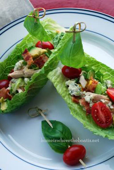 Lettuce Sailboats- Pefect For A Party