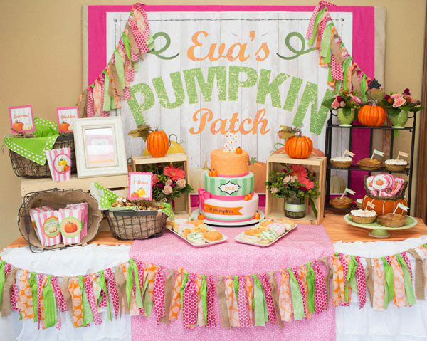 Love this Pumpkin Patch Party!