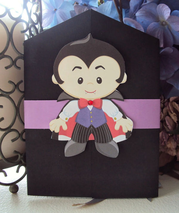 This is the cutest Vampire Invitation Ever!