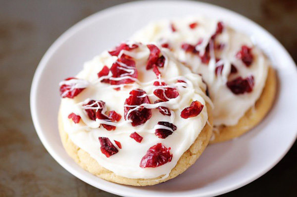 Cranberry Bliss Cookies- A perfect treat for Thanksgivin
