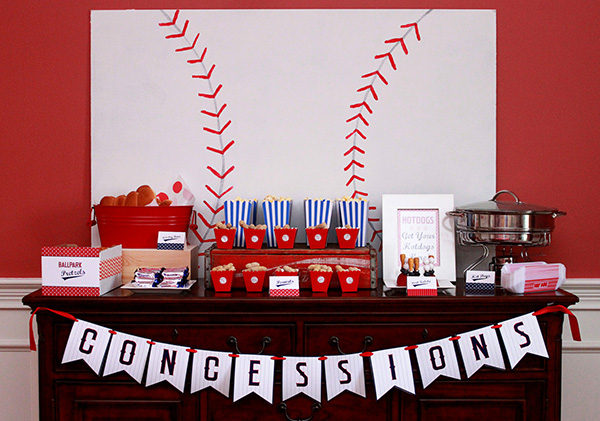 Cute World Series Party Ideas! - B. Lovely Events