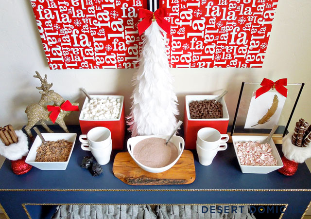 Lovely Hot Cocoa bar!