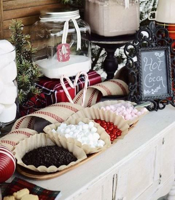 Rustice Winter Hot Chocolate bar- Swoon