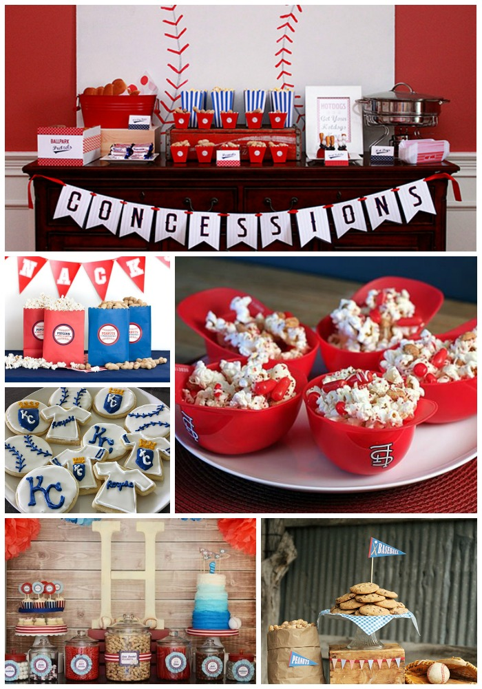 World Series Baseball Party Ideas! - B. Lovely Events