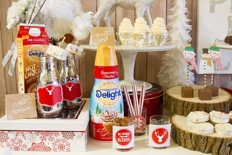 Hot Cocoa Bar Loveliness! -B. Lovely Events