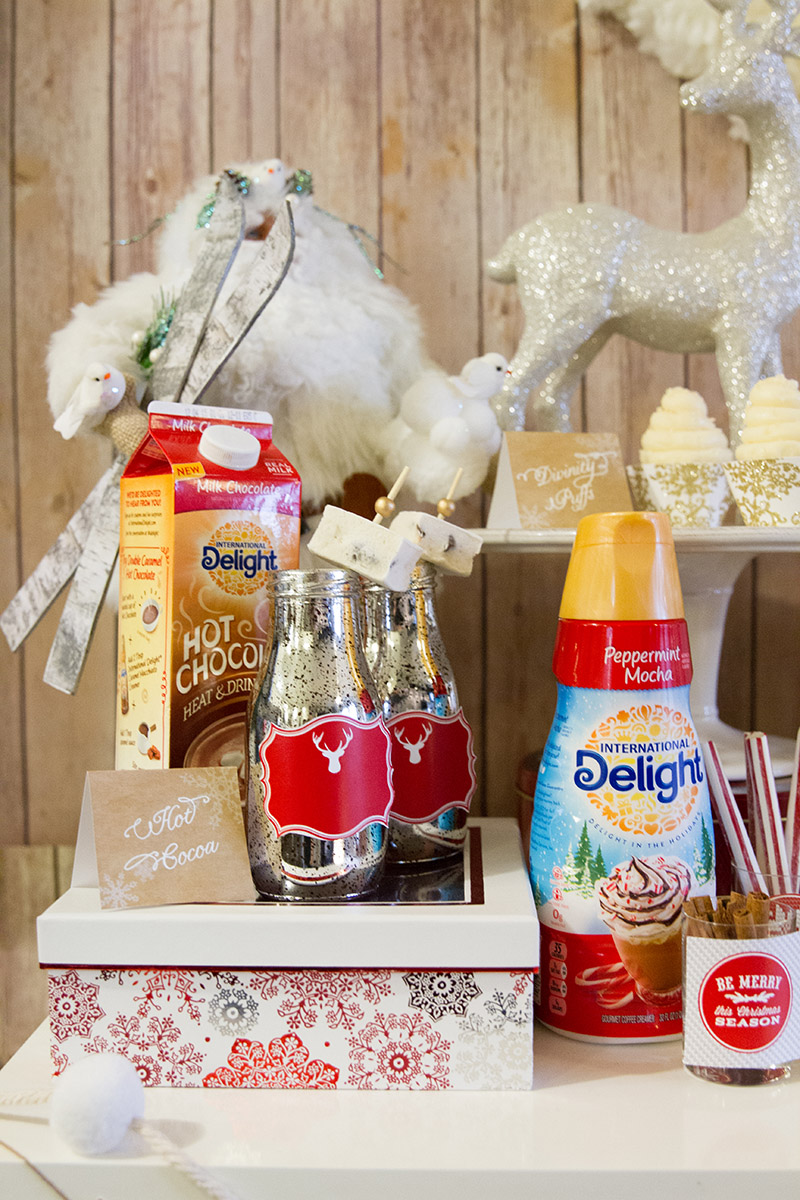 International Delight Hot Chocolate Bar - B. Lovely Events