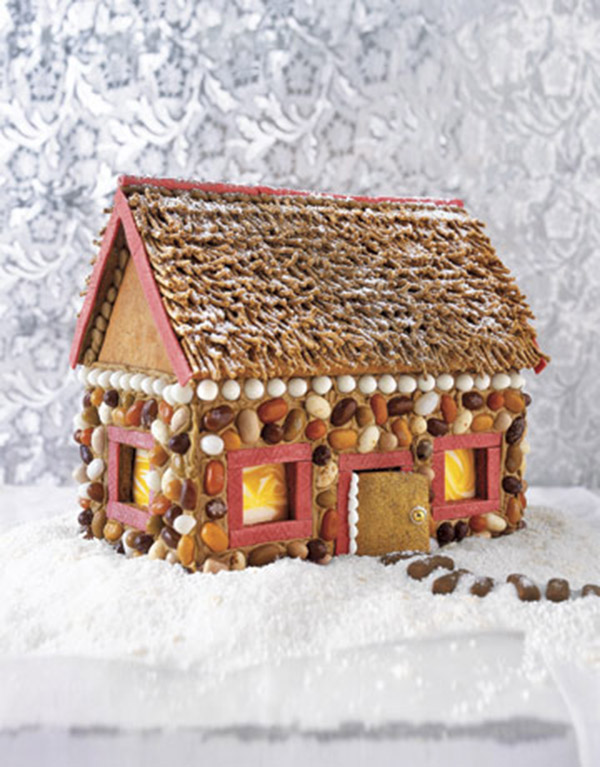 Rustic Gingerbread house!