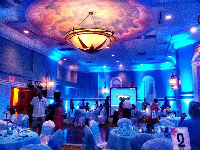 Transform a room with uplighting from DIYuplighting - Lovely Vendors- B. Lovely Events