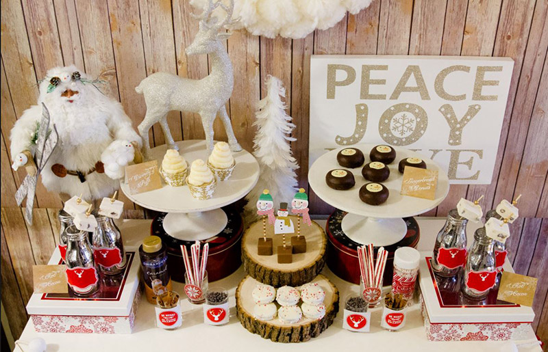 Warm & Cozy Hot Cocoa Bar- B. Lovely Events