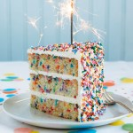 Partying With Rainbow Sprinkle Treats!