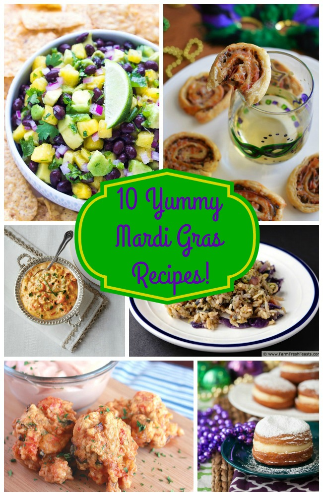 10 Yummy Mardi Gras Recipes- B. Lovely Events