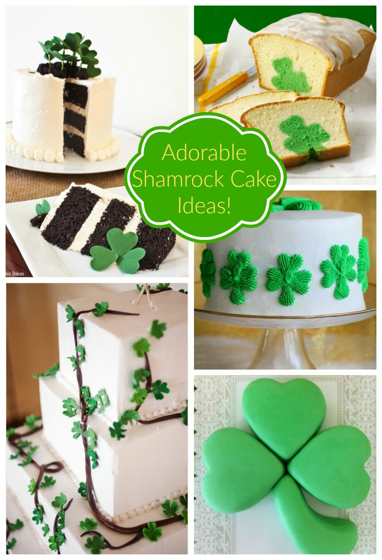 Adorable Shamrock Ideas!-See More Inspiring Shamrock Cakes On The Blog! - B. Lovely Events