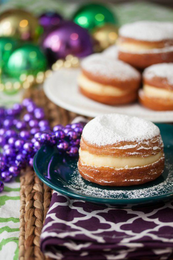 Mardi Gras Paczki! -See More Of The10 Best & Yummy Mardi Gras Recipes - B. Lovely Events