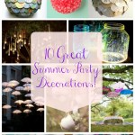 10 Great Summer Party Decorations!!