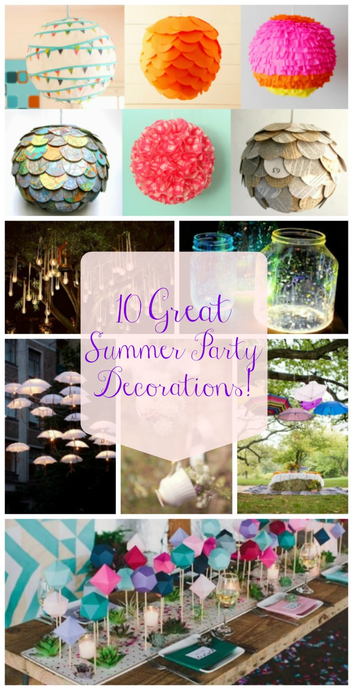 10 Great Summer Party Decorations- B. Lovely Events