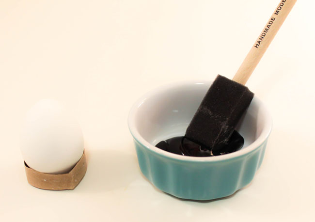DIY Chalkboard Easter Eggs Step 2 -Learn The How To On B. Lovely Events