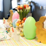Easter Kids Table- See more at B. Lovely Events
