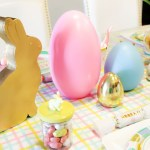 Kids Easter Bunny Table Decorations- See more at B. Lovely Events