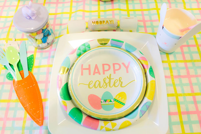 Lovely & Fun Easter Table Tablescape For Kids!- B. Lovely Events