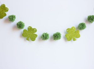 10 {Lovely} Shamrock Banners & Garlands!