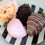 Chocolate Covered Strawberries and Roses- The Perfect Mothers Day