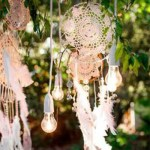 Dreamcather Party Decor- See more amazing party trends for 2016 at B. Lovely Events!