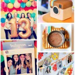 Instagram Party Ideas - See more amazing party trends for 2016 at B. Lovely Events!