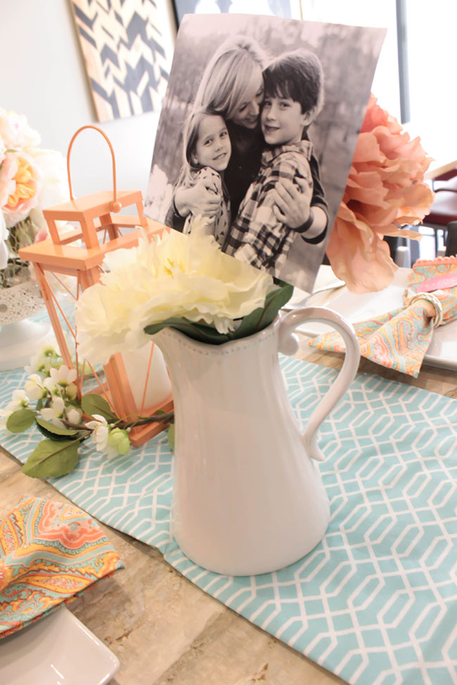 Lovely Blooming Mother's Day Centerpiece - See How To Put It Together On B. Lovely Events!