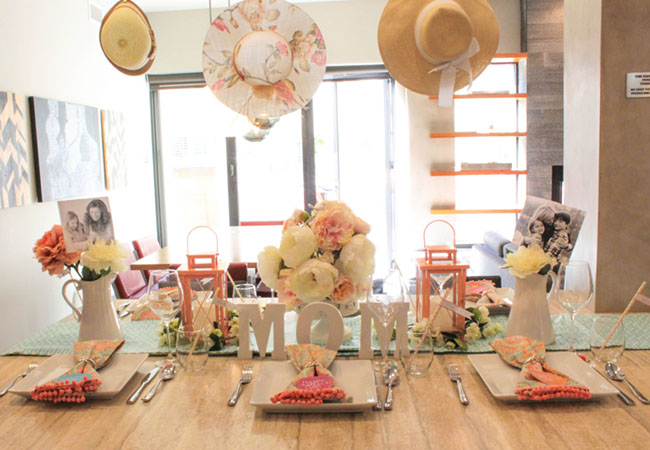 Lovely Blooming Mother's Day Tablescape! - See How To Put It Together On B. Lovely Events!