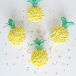 Pineapple Cupcakes That are too cute!