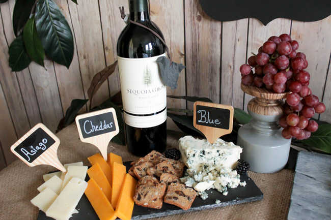 Cabernet sauvignon Wine And Cheese Pairing- Wine And Cheese Night With Sequoia Grove- B. Lovely Events