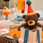 Go Wild Baby Shower Bear Centerpiece- Operation Shower- See All The Photos On B Lovely Events!