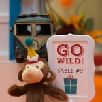 Go Wild Baby Shower little monkey Centerpiece- Operation Shower- See All The Photos On B Lovely Events!