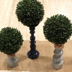 DIY Topiary Boxwood Modern Centerpieces (3) -Learn How To Make Them On B. Lovely Events