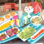 Have A Summer BBQ Burger Bar! - B. Lovely Events