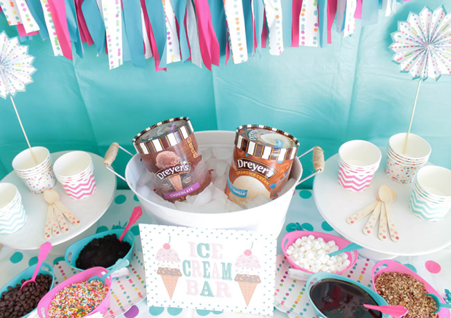 Lovely Ice Cream Party Ideas! - See more ice cream party ideas on B. Lovely Events