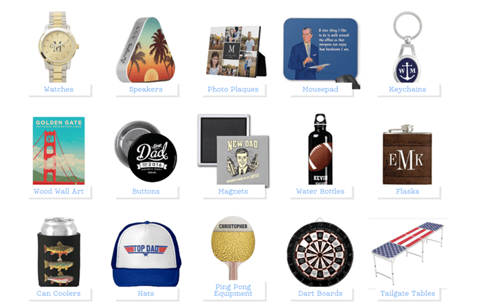 Loving these Father's Day gifts from zazzle