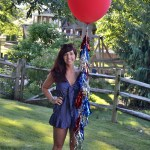 4th Of July Celebration Balloons- See All Of The Lovely Party Details on B. Lovely Events!