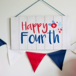 4th Of July Sign- See more of the 4th of July Party on B. Lovely Events