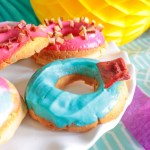 Colorful Puppy Party Donuts- Get The Recipe on B. Lovely Events