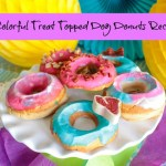 Colorful Treat Topped Dog Donuts Recipe