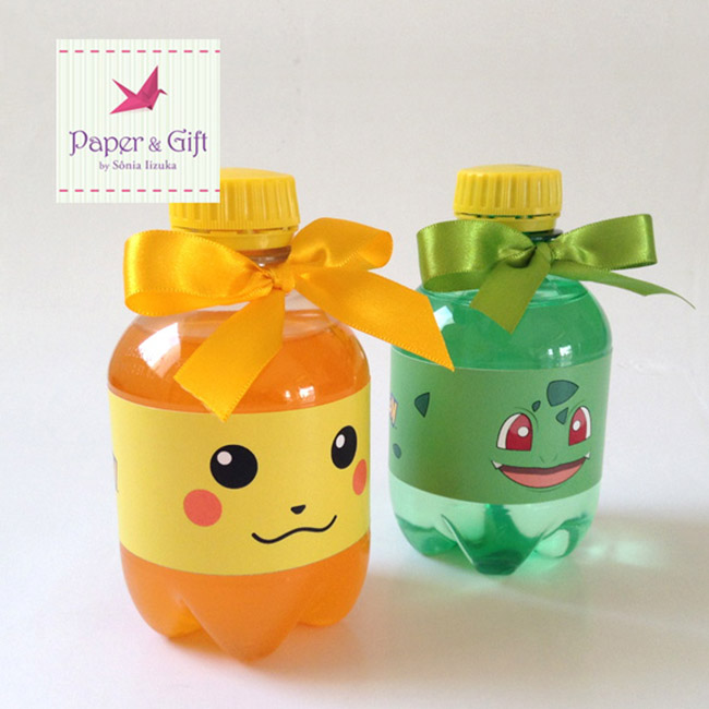 Cute Pokemon Party Drinks! - See more cute Pokemon Party Ideas on B. Lovely Events