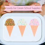 Ice Cream Lunch Box- See More On B. Lovely Events!