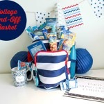 Lovely Nautical College Send-Off Basket {With Free Printable}!