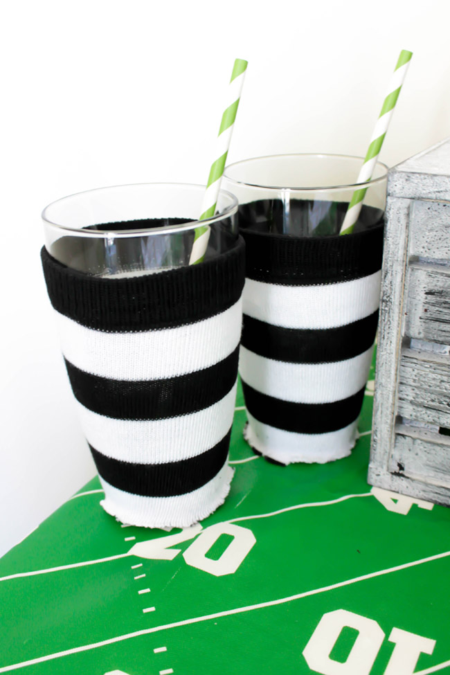easy-football-ref-cups- See how to make them on B. Lovely Events