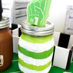 tailgate-home-party-mason-jar-See how to make them on B. Lovely Events