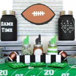 tailgate-home-party- See all of the DIYS on B. Lovely Events
