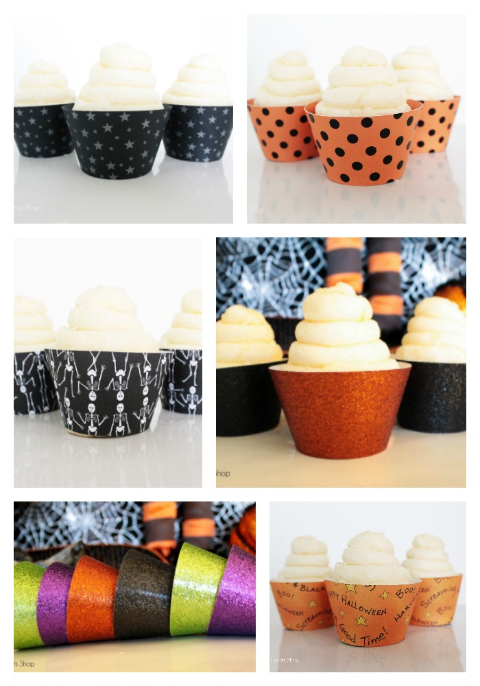 New Halloween Cupcake Wrappers in The Shop!