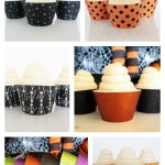 Halloween Cupcake Wrappers On B. Lovely Events!